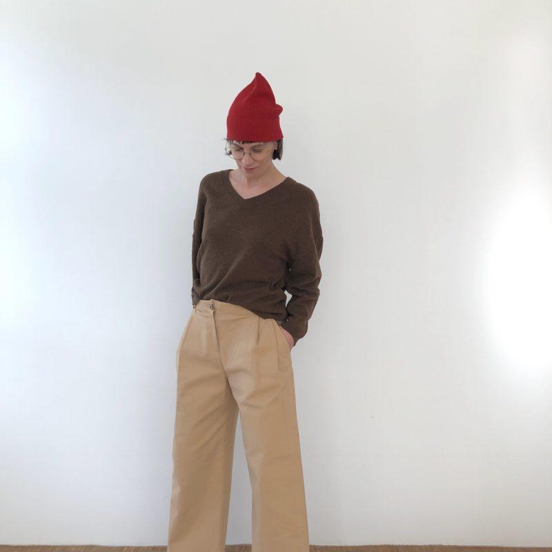 Pullover V-Ausschnitt Heike
